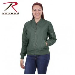 Chaqueta Piloto Ligera Mujer Rothco Impermeable